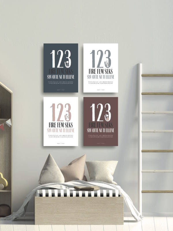 123 talplakat NorgaardNorgaard