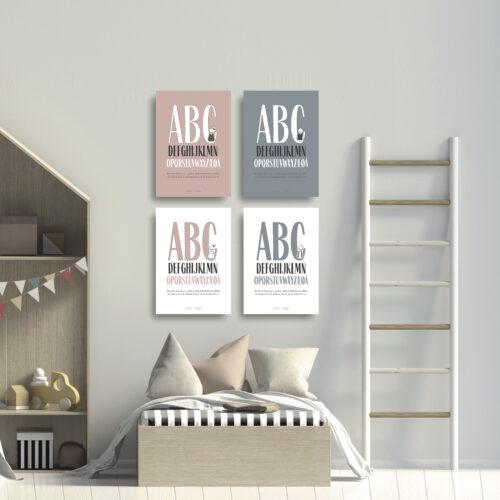 ABC plakat kort NorgaardNorgaard