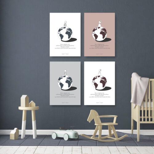 Vidunderlige verden web plakat kort NorgaardNorgaard