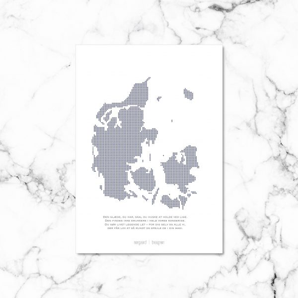 Vores Danmark kort NorgaardNorgaard