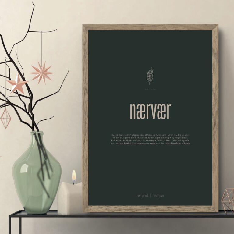 Naervaer plakat nørgaardnørgaard