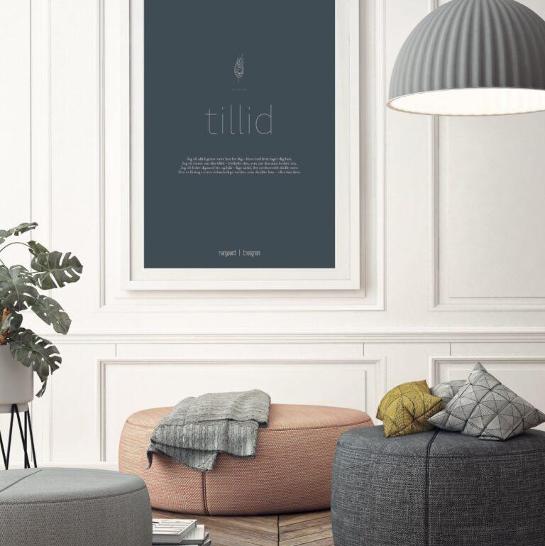 Tillid plakat nørgaardnørgaard
