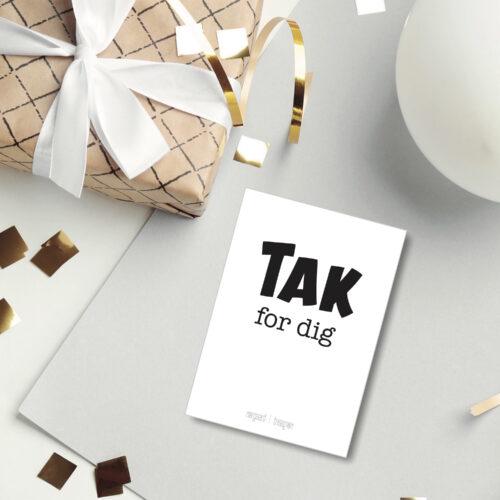 Tak for dig postkort NorgaardNorgaard