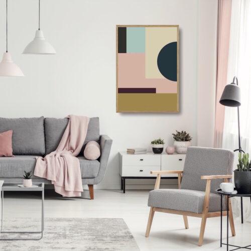 Kunstprint IIII NorgaardNorgaard