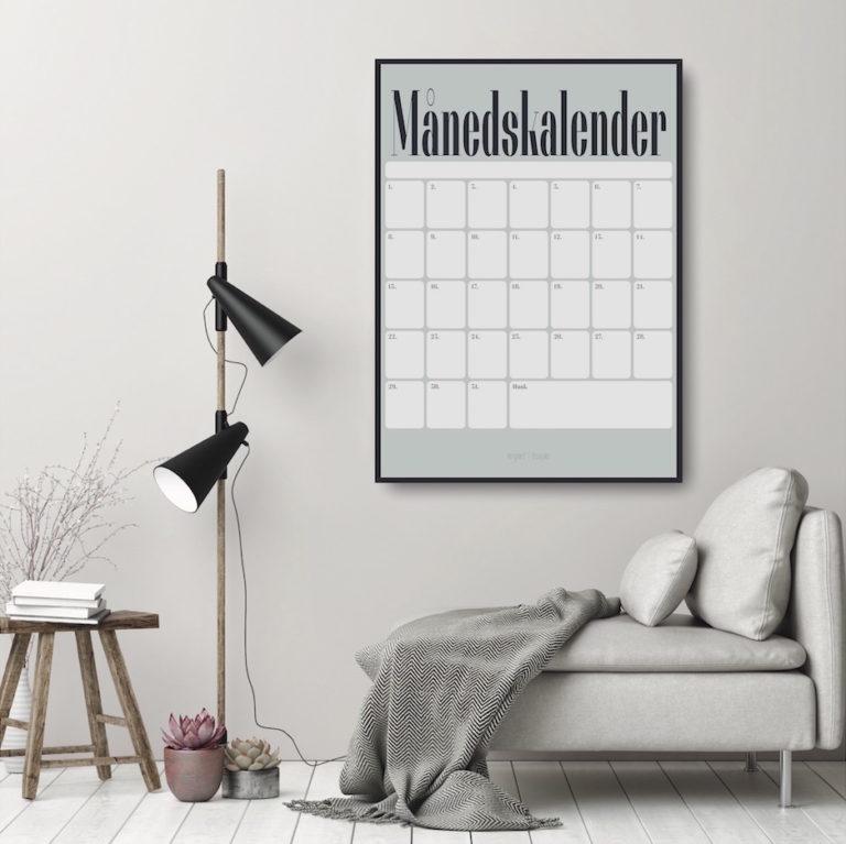 Maanedskalender NorgaardNorgaard