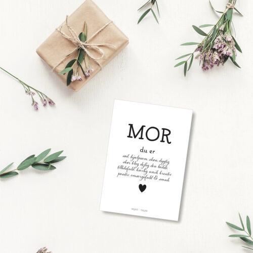 Mor du er - personligt kort NorgaardNorgaard
