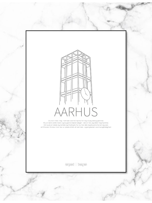 Aarhus plakat NorgaardNorgaard