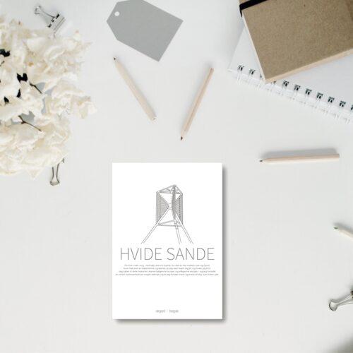 Hvide Sande A5 kort NorgaardNorgaard
