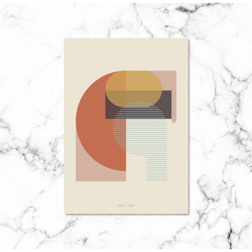 Kunstprint IV plakat NorgaardNorgaard