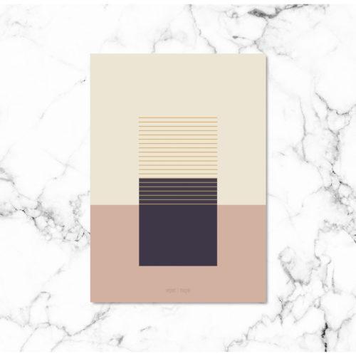 Kunstprint IX kunstplakat NorgaardNorgaard
