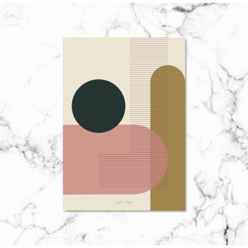 Kunstprint VI kunstplakat NorgaardNorgaard