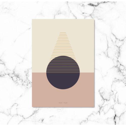 Kunstprint VIII kunstplakat NorgaardNorgaard