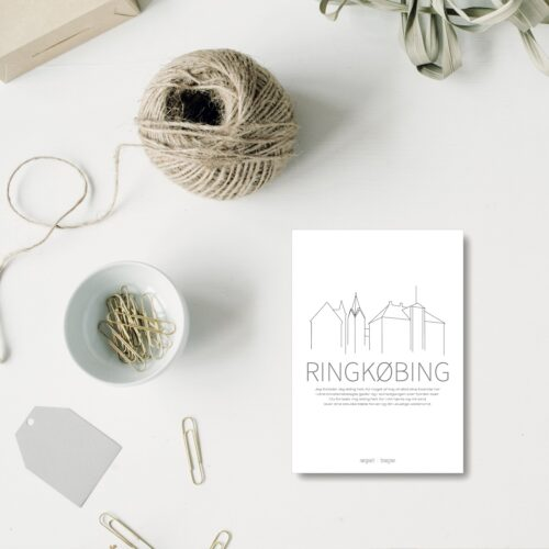Ringkoebing A5 kort NorgaardNorgaard