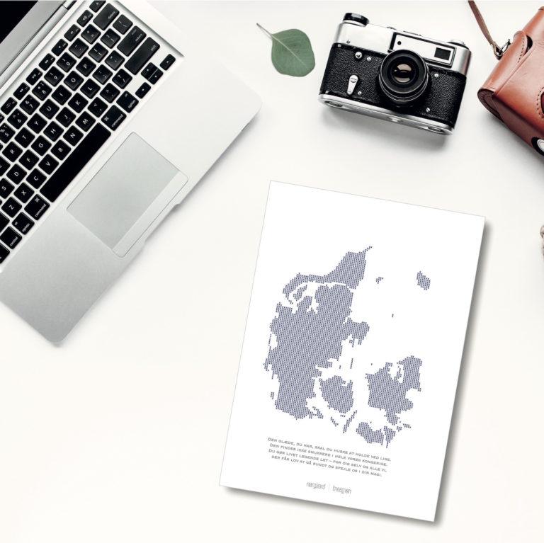 danmark kort NorgaardNorgaard