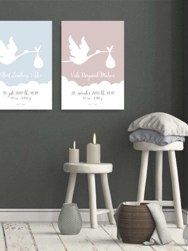 Flyvende stork web Fødselstavle NorgaardNorgaard