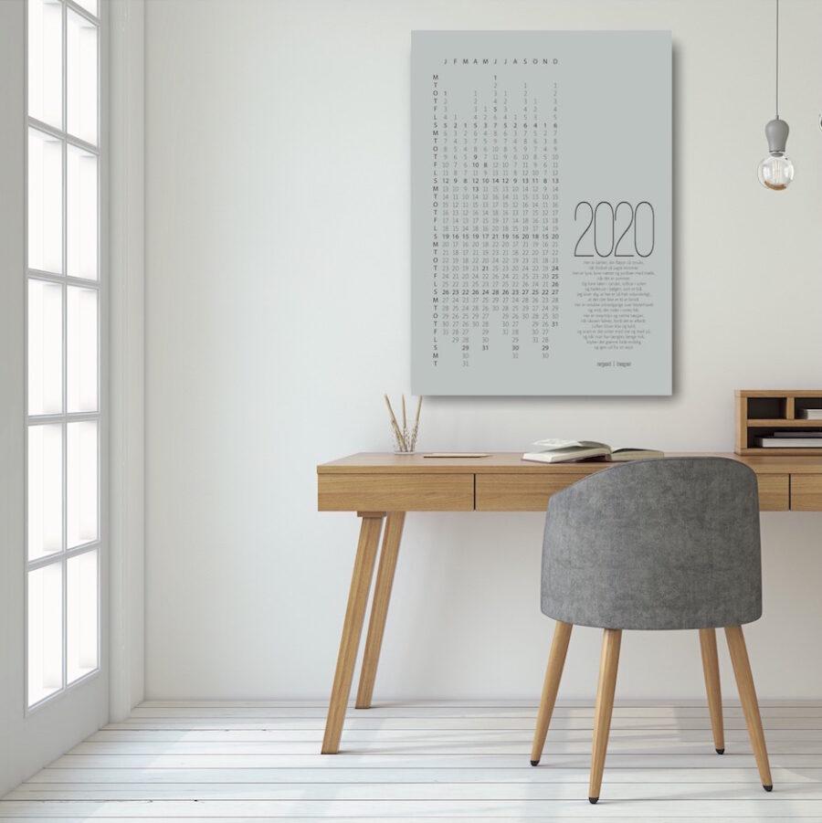 Kalender 2020 plakat NorgaardNorgaard