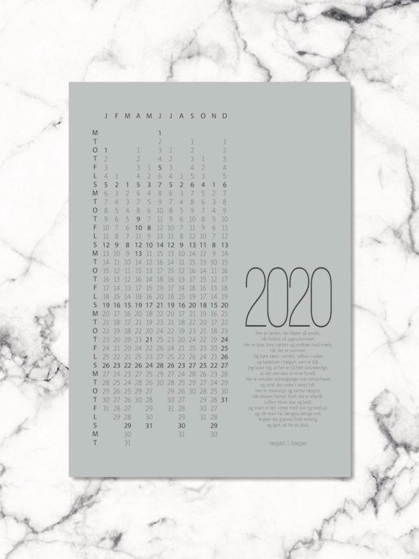 Kalender 2020 NorgaardNorgaard