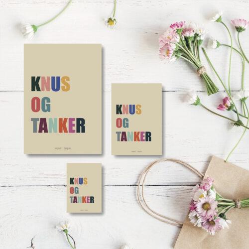 Knus og tanker kort NorgaardNorgaard