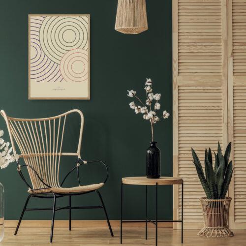 circles kunstprint NorgaardNorgaard