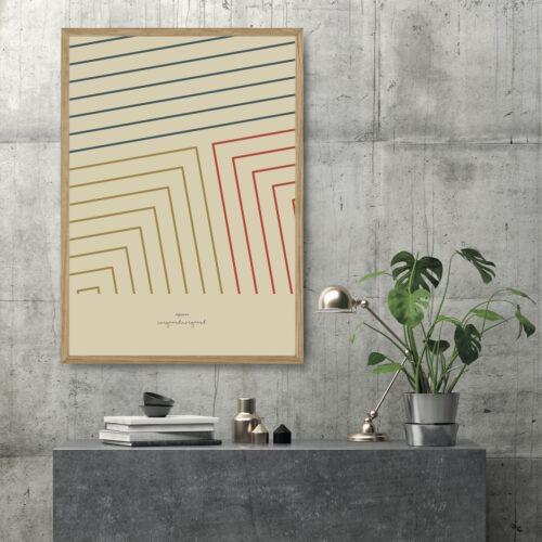 squares kunstprint NorgaardNorgaard