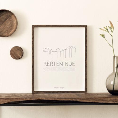 Kerteminde byplakat NorgaardNorgaard