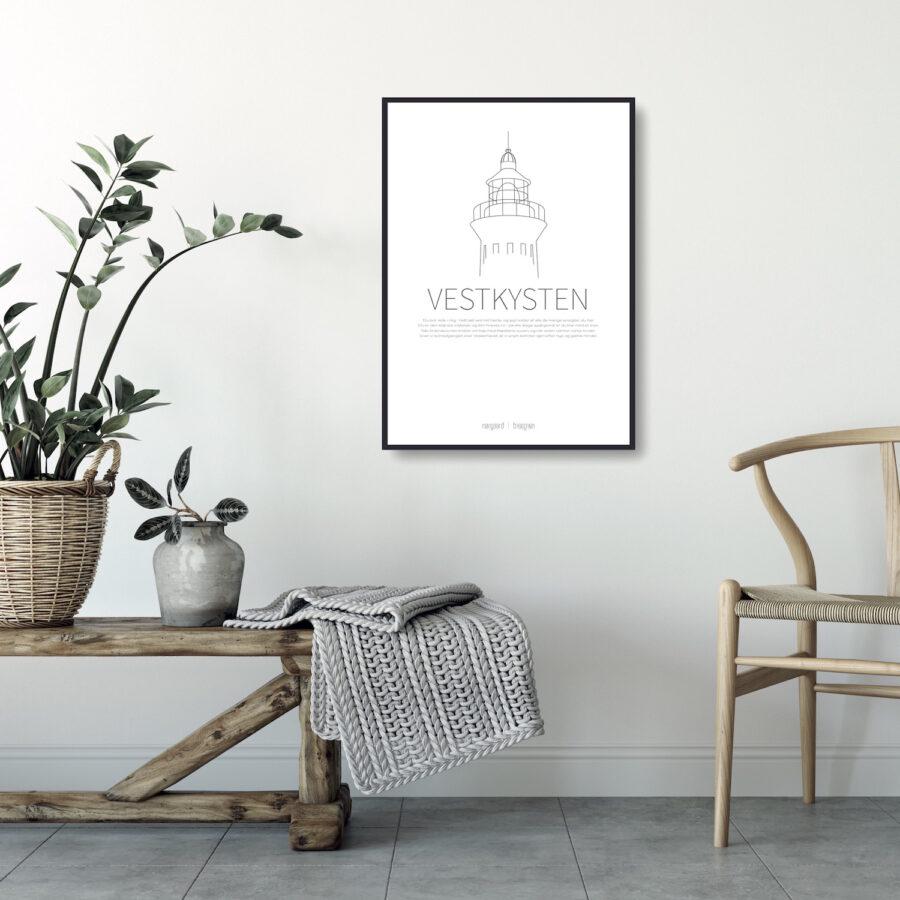 Vestkysten plakat NorgaardNorgaard