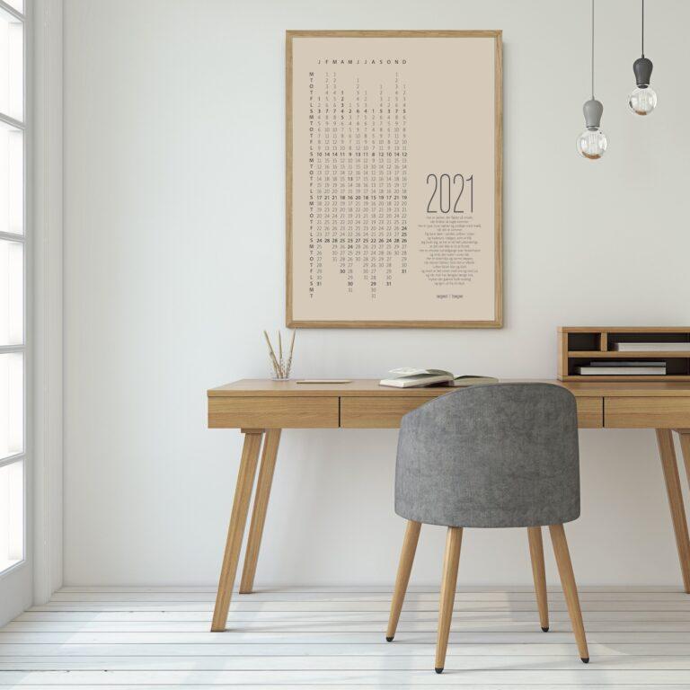 2021 kalender massiv eg plakat NørgaardNørgaard