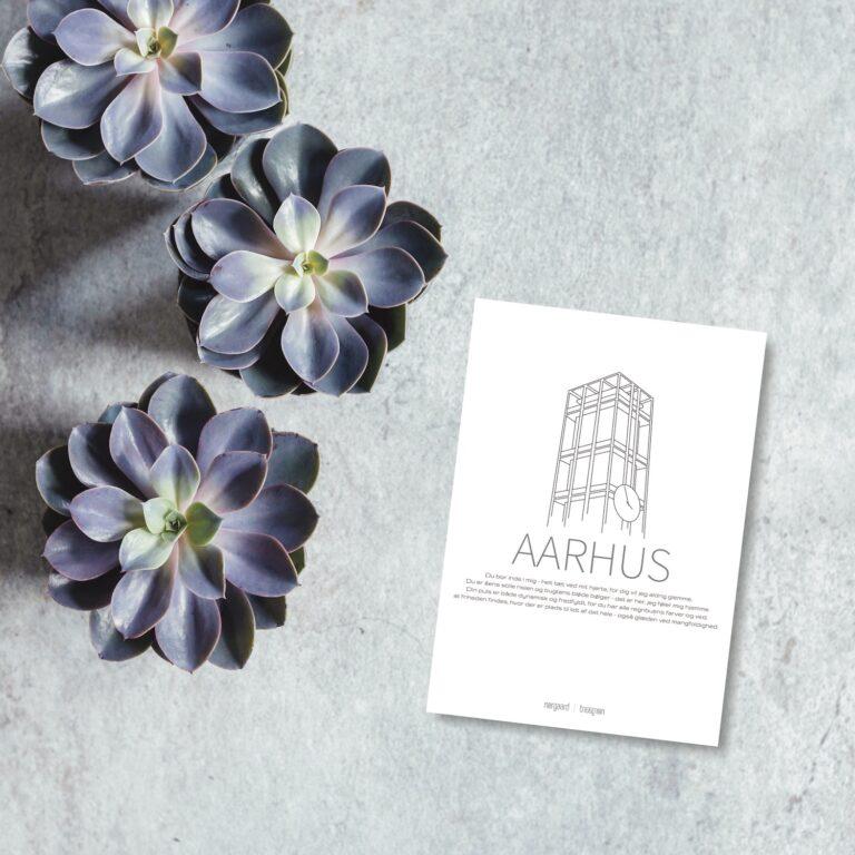Aarhus by kort nørgaardnørgaard