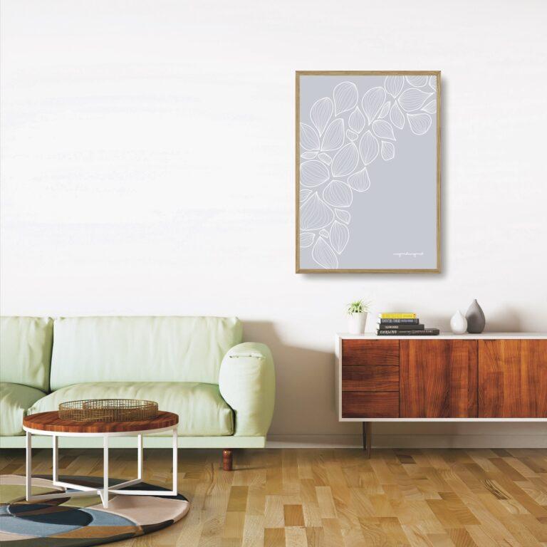 Eucaluptusblade plakat nørgaardnørgaard