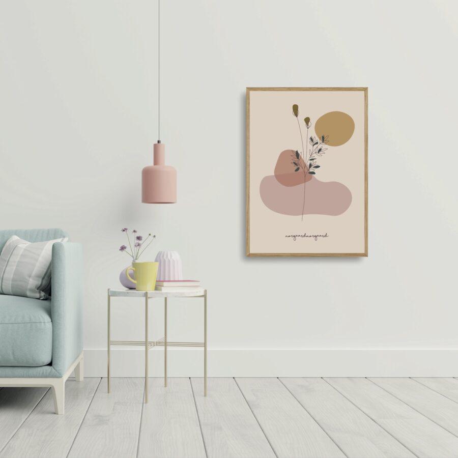 Stilk no 1 plakat nørgaardnørgaard