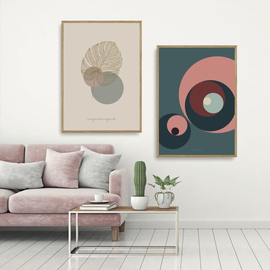 Fingerdendron - kunstprint III plakater Nørgaardnørgaard