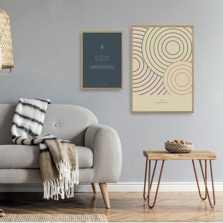 Tillid - Circles plakater et smukt par nørgaardnørgaard